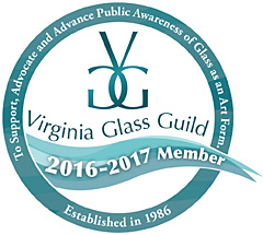Virginia Glass Guild badge